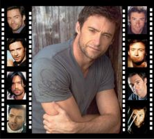 Hugh Jackman Filmstrip by Mistify24