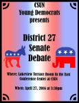 CSUN Young Democrats Debate by lag111
