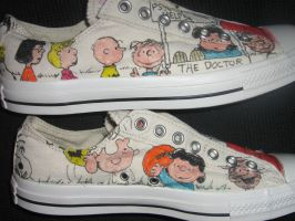 SNOOPY sneakers2 by brolicdesigns