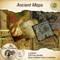 Ancient maps by Lindsay1973