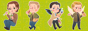 SPN with Food by kai-shii