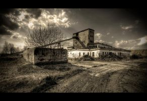 Barren Land Industry by Beezqp