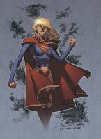SuperGirl by Guile by Ross-A-Campbell