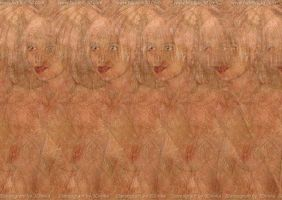3D-Stereogram: Magic Eye Vicky by 3Dimka