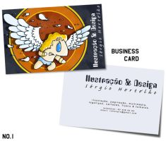 Business Card by Getfuck