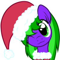 Free Art:Santa Galaxy by Oathkeeper21