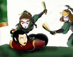 Azula revenged spanked by capfal