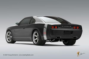 Charger RT 3qtr rear by burningman