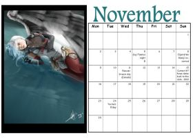 MT Calender: November by Manga-Tutorials