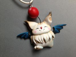 Final Fantasy CC Moogle Necklace 2.0 - EDIT by Gatobob