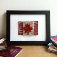 Canada Wire Flag by PaulinaVoang
