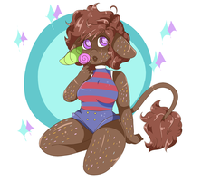 Chocolate Sprinkled Cow by telectin