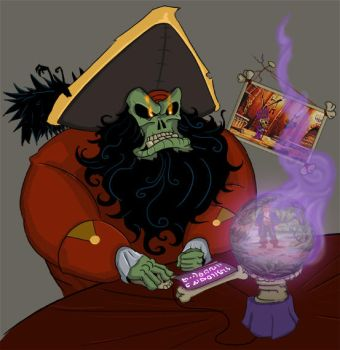 LeChuck playing MI2 by QuadrilinearFilter