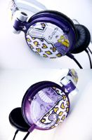 Wonderland Headphones by someorangegirl