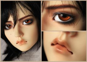 Face up - Migidoll Cho by chibi-lilie
