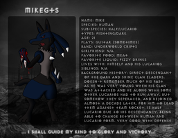 MikeGTS Lucario ID by MikeGTS