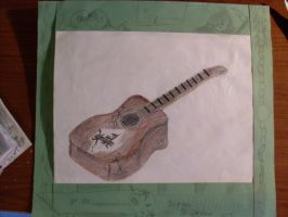 Personalized guitar 2008 by zouxie