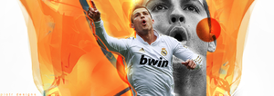 Cristiano Ronaldo Abstract-Style by Piotr-Designs