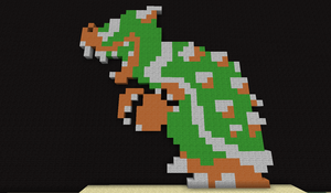 My Minecraft Bowser by VampiricJoker
