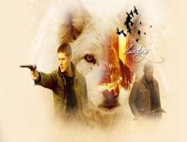 Hunting (Dean Winchester) by Bhish