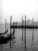 Misty gondolas by Jules-one