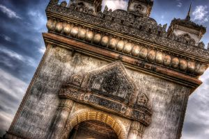 Patuxai, the Arch of Triumph by joebbowers