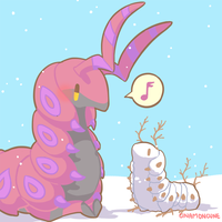 Day 14 - Scolipede by Cuney