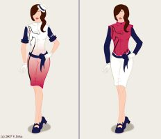 Swift Airlines Uniform Designs by Vsilva