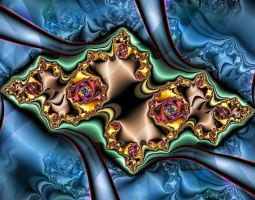 Folding Mandelbrot by ivankorsario