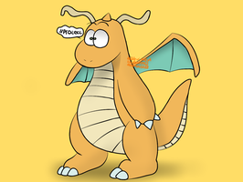 dragonite by deadful-leaf