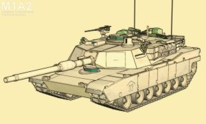 Blended M1A2 by HajaVaikutus