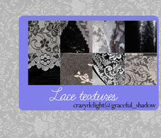Lace  textures by angelmayte