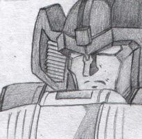 Sunstreaker's NOT happy by DesertCat87