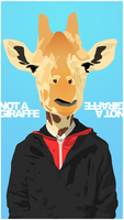 Not A Giraffe by theHalogen
