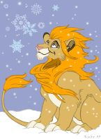 Snow Lion by kubo