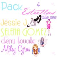 Pack Estrellas png by Dreamflawless