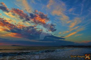 Arch of clouds in Qerret by Muhammed-Jetimi