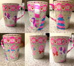 Seasonal MLP and Pokemon Mug by mintyfondue