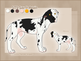STS Dog- Alpine by ShockTherapyStables