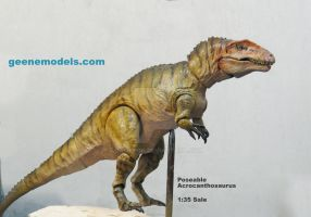 Acrocanthosaurus Poseable 1:35 scale by GalileoN