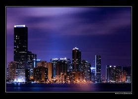 Downtown Lights by Spankcdd