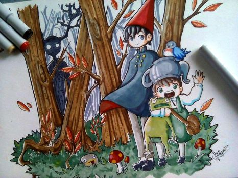Over the Garden Wall by JhonVasquez