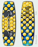 Kiteboard 1 - Honeycomb by Eesu
