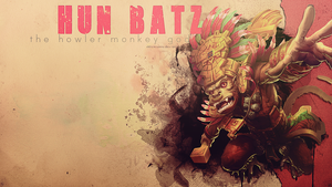SMITE - Hun Batz, The Howler Monkey God by Shlickcunny