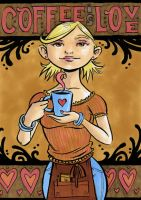 Coffee is Love by liliesformary