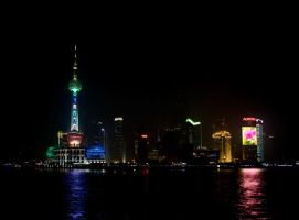 Shanghai Pudong by PaalM