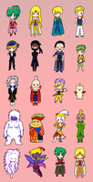 Chibi Final Fantasy VI by con2020tran