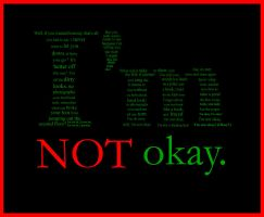 MCR I'm not okay -typographs- by Pancake-fairy