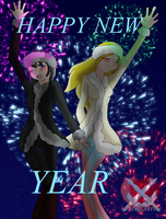 Happy New Year 2016 by HeroHeart001