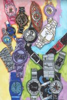 My Watch Collection by everythingerika
